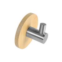 magnetbäder großhandel-DIY Handtuch Wandhaken Bad Küche Tür Kleidung Schlüssel Hut Tasche Kleiderbügel Rack Halter