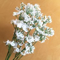 Wholesale flowers resale online - Artificial Flowers forked stars Gypsophila Fake Silk Flower Plant Home Wedding Party Decoration Supplies DHL WX9