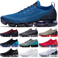 Wholesale soft work shoes for sale - Group buy 2019 xmaropav Men Women Running Shoes Triple Black White Dark Stucco Red Orbit Olympic Work Blue Sport Sneaker Size