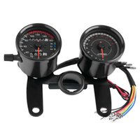 ingrosso caffè principale-Per la Honda Cafe Racer Moto Contachilometri Speedmeter tachimetro Speed Meter LED