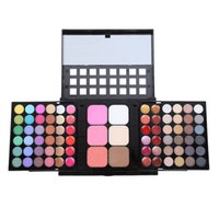 Wholesale eye shadow shimmer powder for sale - Group buy 78 Colors Eyeshadow Palette Push pull Double layer Matte Eye Shadow Palette Powder Matte Shimmer Makeup Pearl Palette Make Up Tools RRA1288