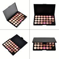 professionelle augen make-up-paletten großhandel-28 Farben Make-up Lidschatten-Palette Neue professionelle Lidschatten-Schimmer-Angelegenheit Somky Eye Shadow