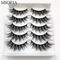 Wholesale artificial eye lashes for sale - Group buy MIOFIA pairs d Artificial mink eyelashes Natural thick long false eyelashes eye lash makeup tool lash extension