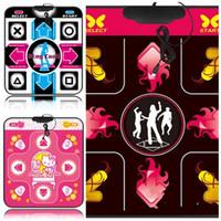 dança usb venda por atacado-USB 11 Chave Dance Pad Inglês Eco Friendly Anti Desgaste Cobertor de Dança Homens E Mulheres Popular Universal Portátil 26yl I1