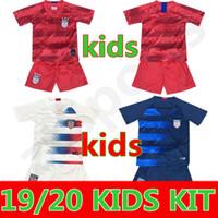 miúdos de futebol dos eua venda por atacado-19 20 EUA PULÍSIC Jersey de Futebol 2019 homens crianças kit DEMPSEY BRADLEY ALTIDORE MADEIRA América camisa de Futebol dos Estados Unidos camisa