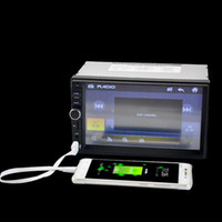 bluetooth multimedia-spieler großhandel-DSstyles 18cm 7018B Double 2 Lärm-Auto-Video-Player Touch Screen Multimedia-Player MP5 USB FM Bluetooth Auto-MP5