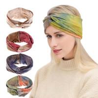 grandes senhoras headbands venda por atacado-Multi cores senhora grande arco headband Projeto Acessório de Cabelo Boemia hairbands Meninas Cabelo Adulto Acessório de Cabelo