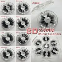 vrais cils c achat en gros de-25mm lashes réel vison cils marque privée cils 3d cils de vison cils de vison étiquette personnalisée