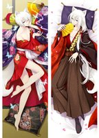 kamisama hajimemashita kiss anime Characters cool boy tomoe & kurama throw pillow cover body Pillowcase Dakimakura