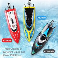 ingrosso imbarcazioni cool rc-Fatturato impermeabile JJRC S1 S2 S3 ripristino dell'acqua di raffreddamento ad alta velocità 25km / H RC della barca Mini Racing RTR Remote regalo dei giocattoli di controllo