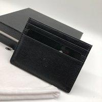 ingrosso carte id per i portafogli-Portafoglio porta carte di credito da uomo d'affari di lusso M B ID porta moda portafogli tasca sottile M T 6 porta carte di polvere sacchetto di imballaggio di alta qualità
