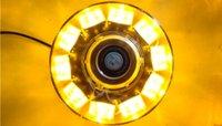 вспышка маяка оптовых-30W 12V High Power Amber Автовозы мигающий строб маяки Аварийное предупреждение светодиодные фонари