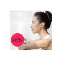 meninas bluetooth bonés venda por atacado-Orelha Mini Bluetooth Stereo Buds Wireless Headphone Música Esportes Handsfree Com Mic 3D Twins fone de ouvido para Android Samsung portátil Headset