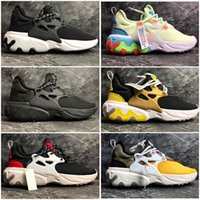 a25fb2cd9a6 2019 Más barato Presto Mid Epic React Hombres Mujeres Zapatos para correr  Sentir el pie cómodo Malla transpirable zapatillas de deporte Negro Blanco  36-45