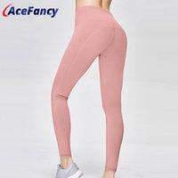 Wholesale skinny yoga pants for women resale online - Running Sports Pants For Women Skinny Hip Up Yoga leggings Acefancy Compression Energy Seamless Leggings Push Up Leggings