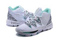 4cc82014ce5c Hand des Kyrie V von Fatima PE scherzt Schuhe für Verkäufe Beste Qualität  Irving 5 Jungen im Freienschuhspeicher geben Verschiffengröße 36-46 frei