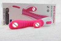 weiblicher vibratorstock großhandel-G-punkt av massage stick doppel vibrator silikon vibrator av massage stick masturbation spielzeug erwachsene geschlechtsspielwaren liefert für weibliche