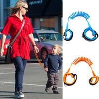 bebek bilek bantları toptan satış-Çocuk Anti kayıp kayış Çocuk çocuklar emniyet anti kayıp bilek link 1.5 m açık ebeveyn bebek tasma band bebek yürüyor koşum C2176