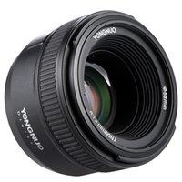 abertura da lente venda por atacado-50mm F1.8 Camera para Nikon completa Frame Lens grande abertura AF Auto Focus FX DX Lens Frame for FX e DX câmeras