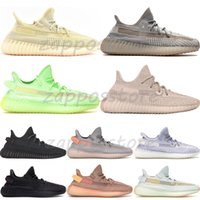 Wholesale big size sneakers resale online - 2019 Top Quality Antlia Static Black Reflective Grow GID Mens Running Shoes Fashion Kanye West Womens Sports Runner Big Size Sneakers