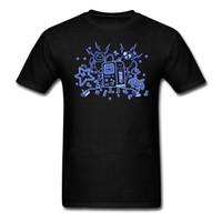 plus größenneuheitst-shirts großhandel-Hip Hop Neuheit T Shirts Herren Bmo Großhandel Rabatt T Shirt Herren Sommer Kurzarm 100% Baumwolle Plus Size Shirts