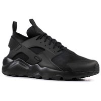Wholesale outdoors online - Huarache Run Ultra SE IV Men Running Shoes Trainer Triple Black Red Pink Lightweight Athletic Sport Outdoor Sneakers