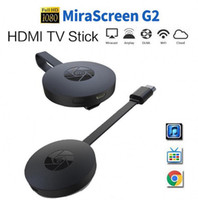 Wholesale G2 Wireless WiFi Display Dongle Hot Receiver P HD TV Stick Airplay Miracast Media Streamer Adapter Media for Google Chromecast