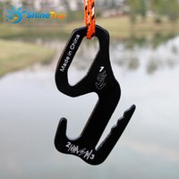 Wholesale canopy tent accessories resale online - 9 Shape Tent Rope Buckles Puller Tightener Canopy Stopper Outdoor Camping Cord Fixing Tools Tent Accessories
