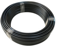 AN 6 T/éflon PTFE Tress/é Inoxydable Oil Gas Hose pour Fluides Tuyau Durite Carburant Essence 1M