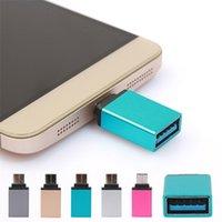 продажа сотовых телефонов оптовых-2018 горячая распродажа Type-C к USB OTG Mini Adapter 3.0 Converte для Samsung Galaxy Note8 аксессуары для сотовых телефонов зарядное устройство адаптеры