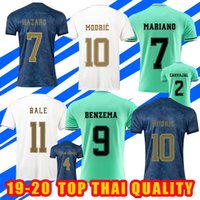 Wholesale real madrid new soccer jersey for sale - Group buy 19 Home Soccer Jerseys For Real Madrid New MODRIC MARCELO away ROOS camisa de futebol HAZARD ISCO ASENSIO BALE Football Shirts maillots