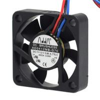 ventilateur adda 4cm achat en gros de-de silencieux ventilateur ADDA AD0412MB-G76 4010 4cm de 40mm DC12V 0.08A ventilateur ultra silencieux roulement à billes uble