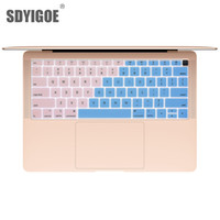 teclado macbook à prova d'água venda por atacado-2018 estilo Notebook Keyboard Cover Para macbook