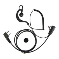 Wholesale kenwood puxing wouxun earpiece for sale - Group buy Walkie Talkie Earpiece Headset For Baofeng UV R BF S KENWOOD WOUXUN QANSHENG PUXING H777 Two Way Radio C0139A Fshow