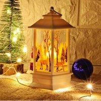 masa lambası led sıcak beyaz toptan satış-Dekorasyon Hediye Mevcut LED Gece Lambası Masa Lambası Taşınabilir Akülü Kumandalı Sıcak Beyaz Christnas Noel Partisi Tema için LLFA