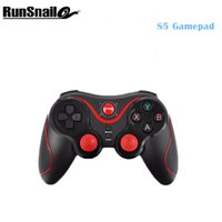 Wholesale android tablet console for sale - Group buy Gen Game S5 Wireless Bluetooth Gamepad Controller Joystick Handle Remote Controller For Android Tablet Came Console Smartphone