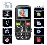 Wholesale Elder Phone Older Phones Good Senior Big Button Battery Loud Speaker SOS Side Button Dual Sim Card Free DHL Shipping