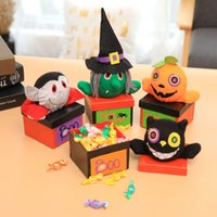 Wholesale vampire decorations for sale - Group buy Halloween decorations creative Halloween vampire pumpkin candy box mall kindergarten gift box