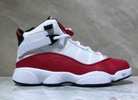 ingrosso anello di personalità-Personality mens 6 anelli scarpe da basket rimediate, buon prezzo negozi online per la vendita di stivali, scarpe da ginnastica sportive scarpe da ginnastica