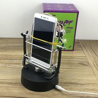 Wholesale swing magic resale online - Magic gaze Kill time Hypnosi Creative Plastic Automatic Walking Swing Mobile Phone Pedometer APP Stepper Machine home decoration