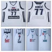 01af0fd0c6f6 NCAA Mens Luka  77 Doncic Jersey Cheap Throwback Basketball Jersey slovenija  Team Luka 7  Doncic Stitched Shirts BASKET Basketball JERSEYS