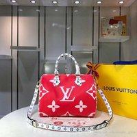 ingrosso repliche di lusso-Luxury designer borsetta designer borsetta moda cuciture modello grande capacità produzione pelle e tela replica lusso 40391 A3