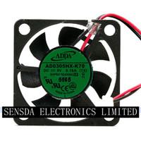 adda 5v fans großhandel-Großhandelsadda AD0305HX-K70 3006 5V 0.18A nehmen Ersatzteile des 30 * 30 * 6mm mini axialen Ventilators ab