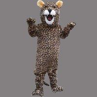 trajes do epe venda por atacado-Novo Super quente Leopard Mascot Costume Fancy Dress EPE