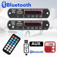 Wholesale mp3 player power supply for sale - Group buy TOSPRA Bluetooth V V DC TF FM Radio Audio MP3 Player AUX Module Decoder Board USB Power Supply For Car Remote Music Speaker
