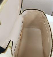 trousse de toilette bleue achat en gros de-livraison gratuite CLASSIC BROWN mono cuir dame Cosmetic Box Femelle Nicb voyage lavage cas M42265 sac à main