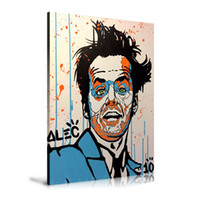 Wholesale monopoly art online - Unframed Framed Alec monopoly Jack Nicholson Home Decor HD Printed Modern Art Painting on Canvas x24