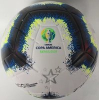 Wholesale soccer ball free shipping for sale - Group buy 2019 Copa America soccer ball Final KYIV PU size balls granules slip resistant football high quality ball