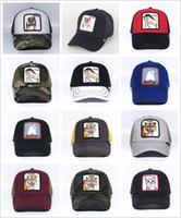 yaz köpek şapkaları toptan satış-YENI Nakış Butch Köpek Beyzbol Kapaklar Yaz Lüks Örgü Şapkalar açık Güneş Şapka Erkek Golf Topu Kapaklar Kadın Moda Vizör Severler Şapkalar