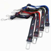 Wholesale best dog car for sale - Group buy Best High Quanlity Cheap Price Pet Supplies Cat Dog Adjustable Car Vehicle Safety Seatbelt Seat Belt Harness Leash